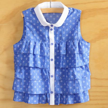 Блуза для девочки РБ62