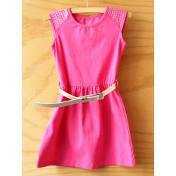 Платье с пайетками для девочки