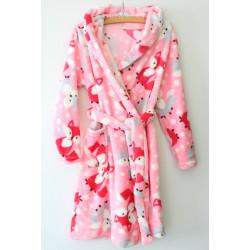 Теплий халат для дівчинки 883-910