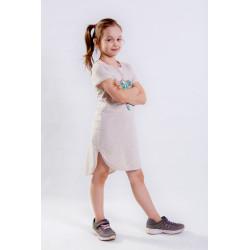 Сукня-футболка для дівчинки ПЛ237