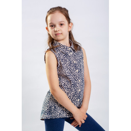 Блуза без рукавов для девочек