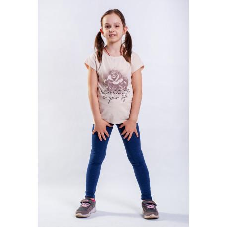 Комплект (футболка и леггинсы) для девочки 725-416