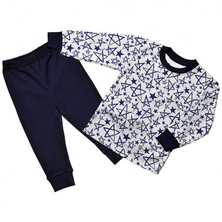 """Детская пижама для мальчика """"Синяя звезда"""""""