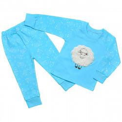 Дитяча піжама блакитна