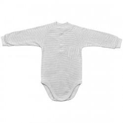 Боди с длинным рукавом для новорожденного