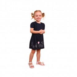 Плаття з коротким рукавом для дівчинки