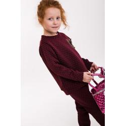 Комплект для дівчинки (кофта і штани) (арт. 71340)