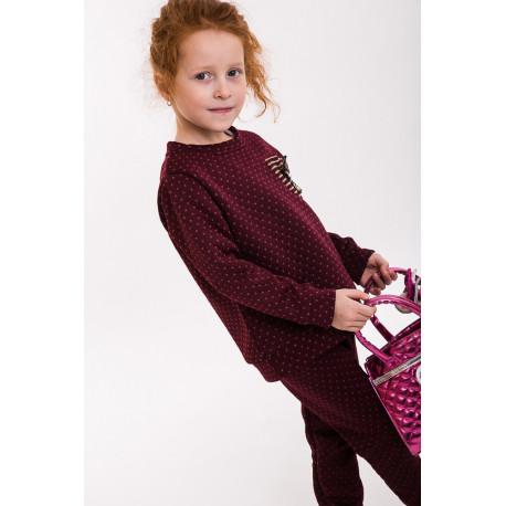 Комплект для девочки (кофта и штаны) (арт. 71340)