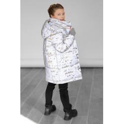 Светоотражающая куртка для девочки