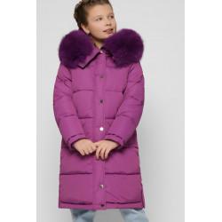 Модна зимова куртка для дівчинки