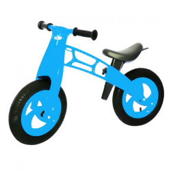 "Беговел ""Cross Bike"" голубой"