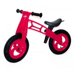 """Беговел """"Cross Bike"""" с надувными шинами, 12"""" (малиновый)"""