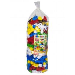 Конструктор пластиковый №6, 381 дет