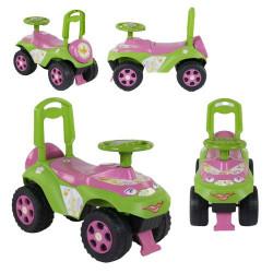 "Зелена машинка-каталка ""Автошка"""
