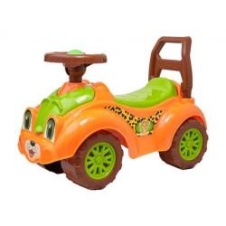 Машинка-каталка для прогулок (оранжевая)