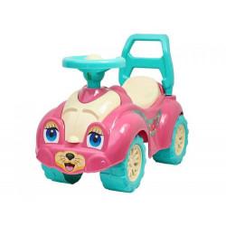 Машинка-каталка для прогулянок (рожева)