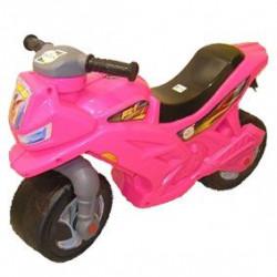 Мотоцикл 2-х колісний (рожевий)