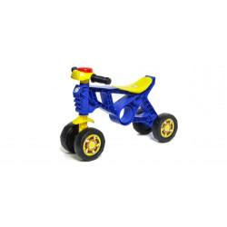 "Мотоцикл пластиковый ""Беговел-2"" (синий)"