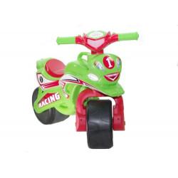 "Мотоцикл-каталка ""Спорт"" (салатовий) музичний"