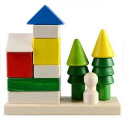 """Пірамідка-конструктор """"Заміський будинок"""""""