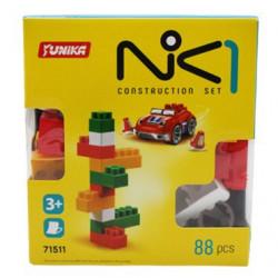 """Пластиковый конструктор """"NIK-1"""", 88 дет"""