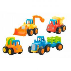 Іграшка Вантажівочка 4 шт.