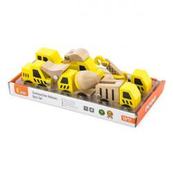 Набор игрушечных машинок Стройтехника, 6 шт.