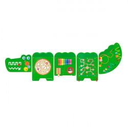 Бізіборд Viga Toys Крокодил, 5 секцій (50346FSC)