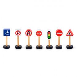 Набор для железной дороги Дорожные знаки