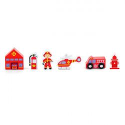 Набір для залізниці Пожежна станція