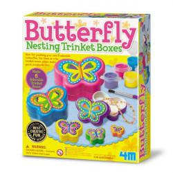 Набор для творчества Шкатулки-бабочки