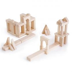 Набор строительных блоков Unit Blocks, 56 шт.
