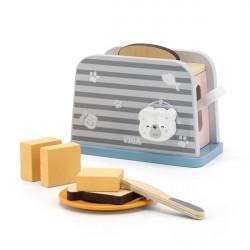 Игрушечный тостер PolarB из дерева
