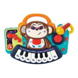 Музична іграшка Піаніно-мавпочка з мікрофоном