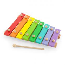 Музична іграшка Дерев'яний ксилофон, 8 тонів