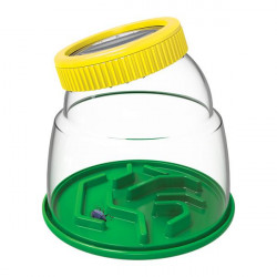 Набор натуралиста Контейнер для насекомых с лупой 5x