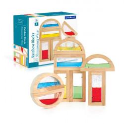 Набор стандартных блоков Block Play Цветная вода