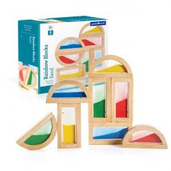 Набор стандартных блоков Block Play Цветной песок