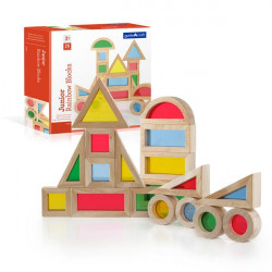 Набор уменьшенных блоков Block Play Маленькая радуга, 20 шт.