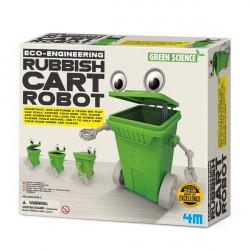 Научный набор Робот-мусорный бак