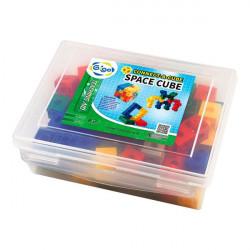 Обучающий набор Объемные фигуры из кубиков, 2 см