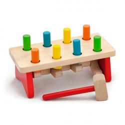 Стучалка Viga Toys Цвяшки (59719)