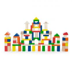 Дерев'яні кубики Велике будівництво, 100 шт., 2,5 см