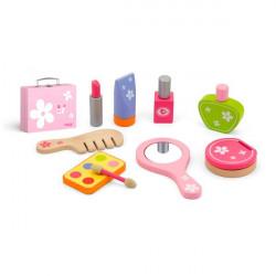 Деревянный игровой набор Все для макияжа