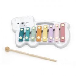 Музыкальная игрушка PolarB Ксилофон-мишка