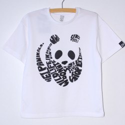 "Белая футболка ""Панда"""