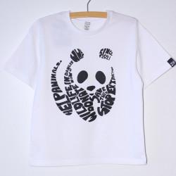 "Біла футболка ""Панда"""