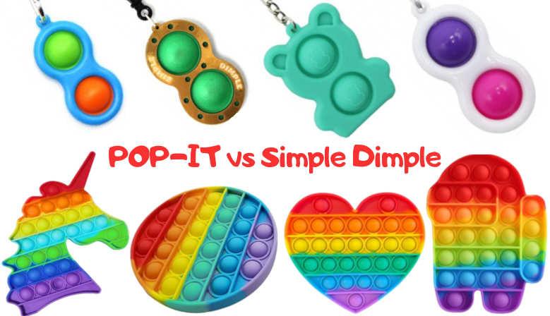 Новинки Pop-it та Simple-Dimple